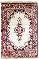 Tapis Wilton - Battista (beige/rouge)