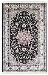 Tapis Wilton - Gårda Oriental Collection Kerman (noir)
