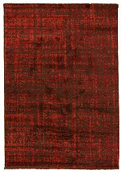 Tapis 140 x 200 cm (wilton) - Giovanna (marron/orange)