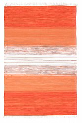 Tapis chiffons de Strehög of Sweden - Emmie (orange)