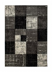 Tapis 133 x 190 cm (wilton) - London Square (noir)