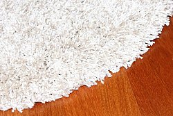 Tapis rond - Shaggy Deluxe (Beige)