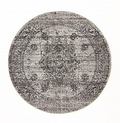 Tapis rond - Peking Royal (gris)