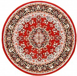 Tapis rond - Peking (rouge)