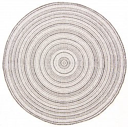 Tapis rond - Brussels Weave (gris)