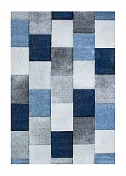 Tapis Wilton - London Mosaik (bleu)