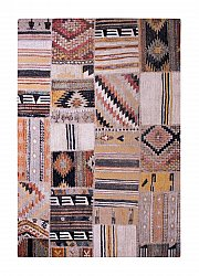Tapis 133 x 190 cm (wilton) - Tibet Patch (multi)