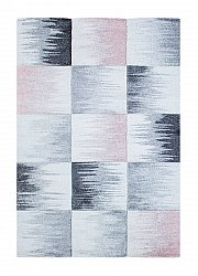 Tapis 133 x 190 cm (wilton) - Atlas Square (rose)