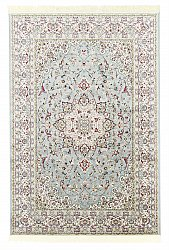 Tapis Wilton - Gårda Oriental Collection Kerman (bleu clair)