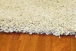 Tapis shaggy - Shaggy Deluxe (blanc)