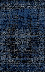 Tapis Wilton - Peking Royal (bleu marin)