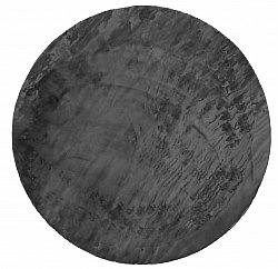 Tapis rond - Aranga Super Soft Fur (anthracite)