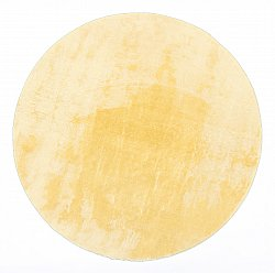 Tapis rond - Aranga Super Soft Fur (or)