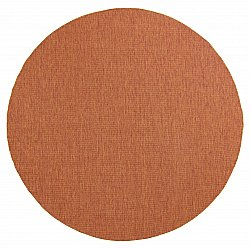 Tapis rond - Monsanto (orange)