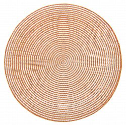 Tapis rond - Ferragudo (orange)