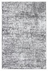 Tapis shaggy - Cosy (argent)