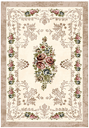 Tapis Wilton - Delpha (beige/multi)