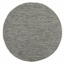 Tapis rond - Dhurry (anthracite)