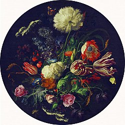 Tapis rond - Rich Flowers (multi)