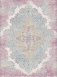 Tapis Wilton - Badem (rose/multi)