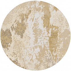 Tapis rond - Travale (beige)