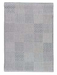 Tapis 133 x 190 cm (wilton) - Taverna Patch (gris clair)