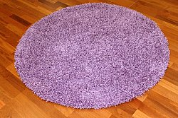 Tapis rond - Fancy (Pourpre)
