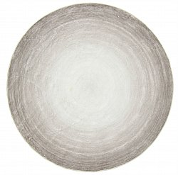 Tapis rond - Shade (beige/gris)