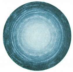 Tapis rond - Shade (turquoise)