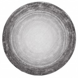 Tapis rond - Shade (gris)