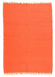 Tapis chiffons - Silje (orange)