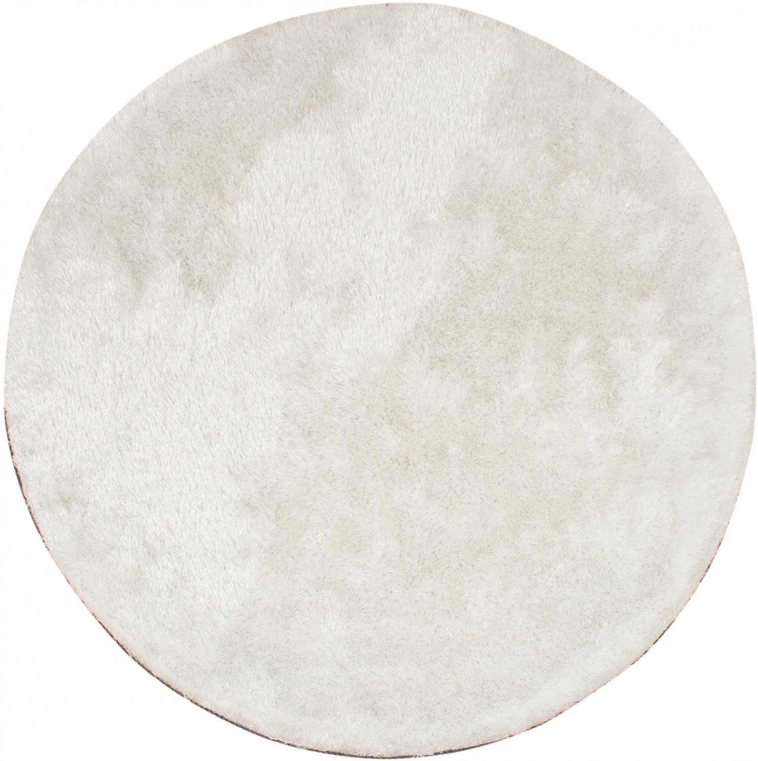 Tapis rond - Cosy (blanc)