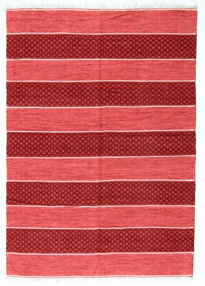 Tapis chiffons - Visby (rouge)